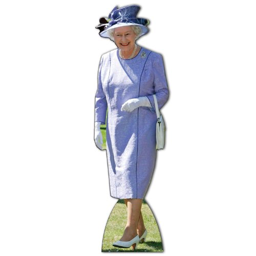Queen Elizabeth II Life Size Standee Cutout by Queen Elizabeth II by Queen Elizabeth II