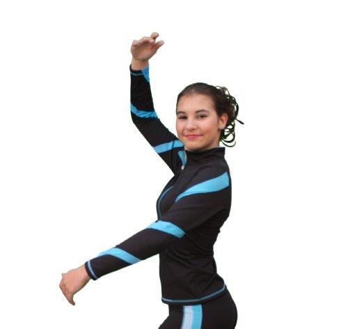 Chloe Noel Figure Skating Spiral Skate Jacket J36