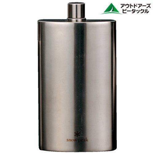 Snowpeak High Quality Titanium Skittles L 170ml ecamp Hip Flask Pants sake 0102