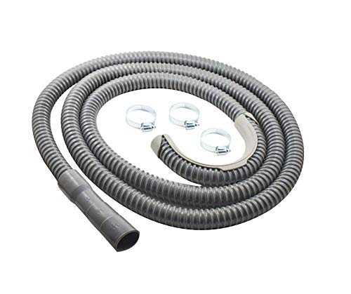 - Washing Machine Drain Hose | 12 Foot | Universal Fit | Heavy Duty Discharge Hose for Washer