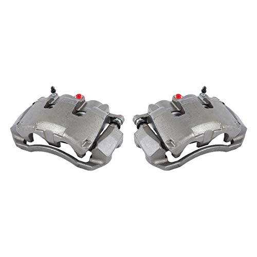 CKOE00993 [ 2 ] FRONT [ 2WD 4WD ] Premium Grade OE Semi-Loaded Caliper Assembly Pair Set