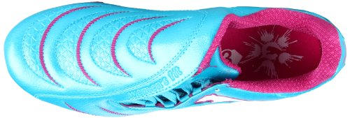 Puma Dames Powercat 3.10 Fg Voetbalcleat Blauw Atol / Wit / Fuschia