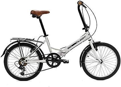 CLOOT Bicicleta Plegable Iconic Blanca - Bicicicletas Plegables ...