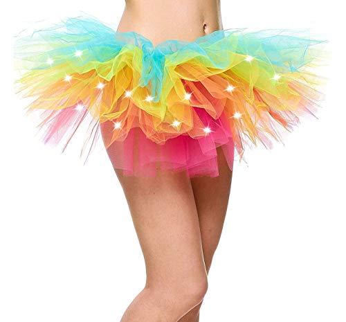 Adult Men/Womens Cosplay Marathon Costume Tulle Layered Ballerina Tutu Skirt