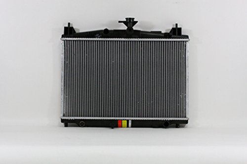 Radiator - Pacific Best Inc For/Fit 13233 11-14 Mazda Mazda2 4CY 1.5/2.0L P-TANK/A-CORE 1-Row