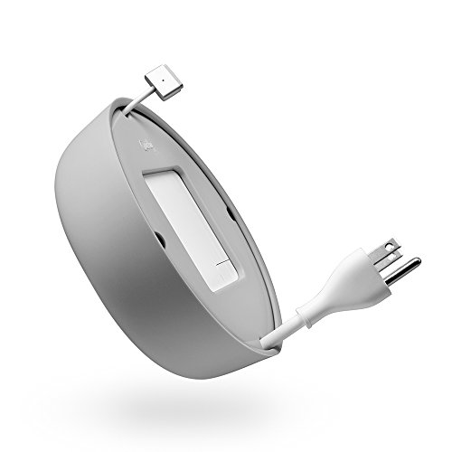 Quirky Powercurl V2 POP 60W Wire Organizer, Grey (PPRCP-60GY)