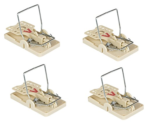 (Victor Power Kill Mouse Trap, 4-Pack - Professional Design (M142S))