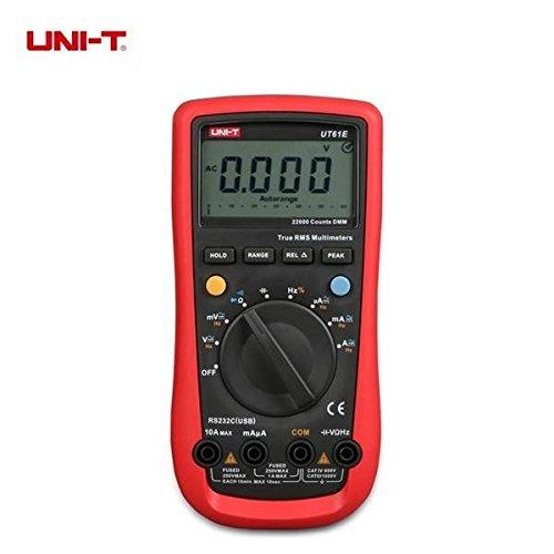 Pink Lizard UNI-T UT61E Auto Range Digital Multimeter AC/DC Volt Amp Resistance Capacitance Frequency Duty Cycle ()