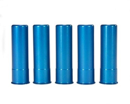 - A-ZOOM Shotgun Snap Caps, 20 Gauge Shotshell, 5-Pack, Blue, 12313