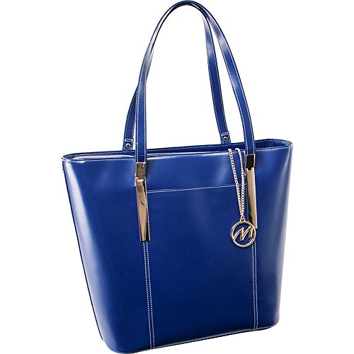 mcklein-usa-97737-deva-leather-ladies-tote-with-tablet-pocket-navy