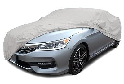CarsCover Custom Fit 2012-2017 Honda Accord Sedan Car Cover for 5 Layer Heavy Duty Waterproof Ultrashield