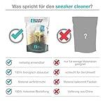 Sneaker Cleaner - kit de nettoyage pour chaussures, 250ml d'agent nettoyant avec 2 brosses pour matériaux sensibles et… 11