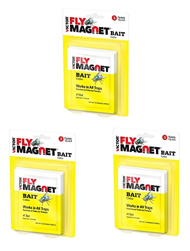 (Safer Brand Victor M383 Fly Magnet Bait, 3 Pack, 9)