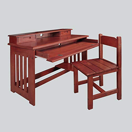 American Furniture Classics 2867DH Desk with Hutch by American Furniture Classics (Image #1)