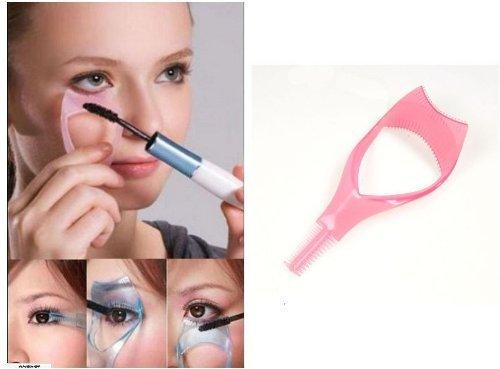 niceeshop(TM) Upper Lower Lash Mascara Applicator Guide Eyelash Comb