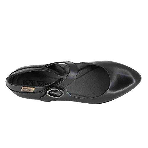 Mujer Zapatos W3n 5707 De Viena Pikolinos 38 Negro wXAUqtnx