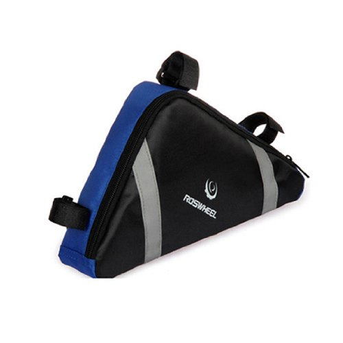 New Bike Bicycle Cycling Frame Triangle Front Tube Bag Blue