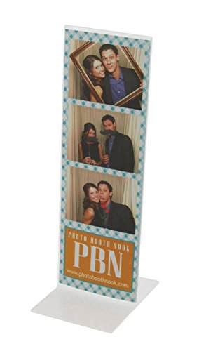 200 ''T'' Style Acrylic Photo Booth Frames for 2x6 Picture Strips - Wholesale by Photo Booth Nook