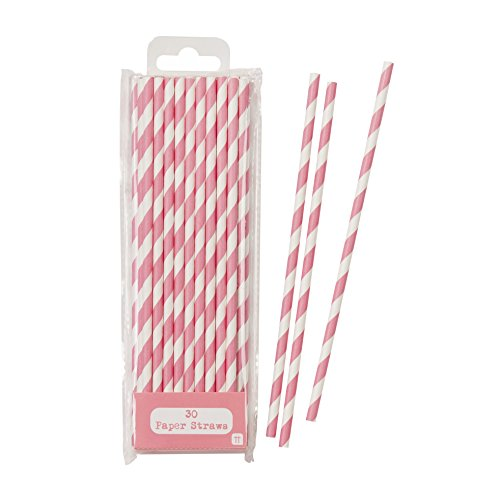 Talking Tables Mix and Match Disposable Drinking Straws (30 Pack), Pink]()