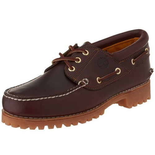 Shoe Timberland Men's Three Eye Smooth Icon Classic Rootbeer vRvqX