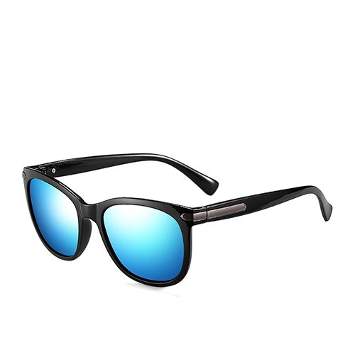 para de Gafas de de Negro Gafas TL de Blue Humo Guía polarizadas Sunglasses para Que Remache Sol Black pescan Viajes Mate C2 Hombre Gafas Hombres C1 Zn5OnqA