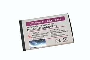 BATERÍA Po-Li ( polímero de Litio ) compatible con BENQ SIEMENS AF51 / AF 51 / S68 / S 68