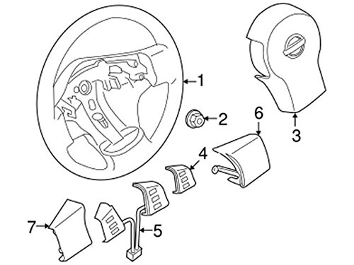 Genuine Nissan 25552-EA08A Radiator Switch Assembly