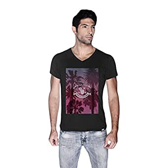 Creo Beach Party T-Shirt For Men - S, Black