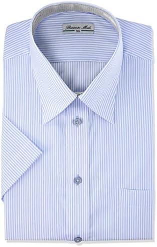 ワイシャツ 夏長 半袖 軽量 快適ワイシャツ 多機能 クールビズ イージーケア 吸水速乾 半袖ワイシャツ メンズ sun-ms-sbu-1832