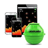 LUCKY Smart Sonar Portable Wireless WiFi Fish Finder for Shore and Kayak Fishing Compatible with iOS and Android For Sale