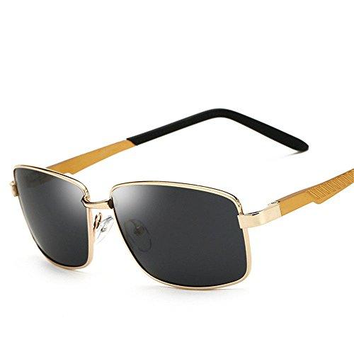 Chahua Les collègues dans les lunettes de soleil Lunettes rétro personnalité classique est le miroir de conduite
