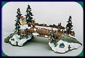 Creek Village (Heritage Village Accessory-Mill Creek Wooden Bridge-(Intro 97-Ret. 2002)