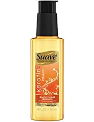 Suave Professionals Smoothing Hair Serum, Keratin Infusion, 4 Ounce