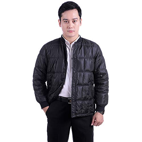 Thicken Style Coat Warm Size BOZEVON for Winter Down Over Men Jacket Outerwear Jacket 1 Jacket Casual Men's 8pRWpAwqz