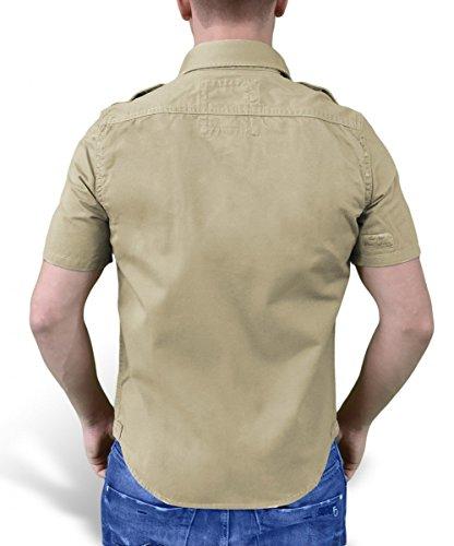 Raw Camicia Corta Surplus Manica Epoca Beige BPqnwaUf