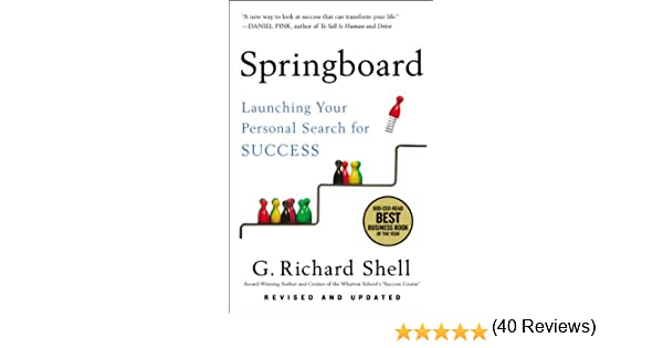 Amazon.com: Springboard: Launching Your Personal Search for ...