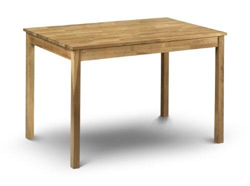 Julian Bowen Coxmoor Solid Oak Rectangular Dining Table, Oak