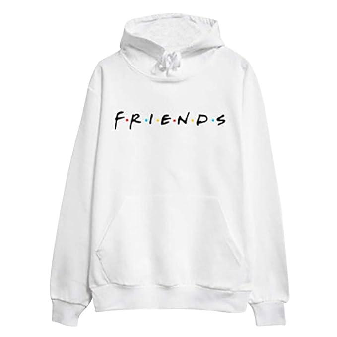 Simpatica Serie Donna Uomo Felpa Friends Maglia Tv Amicizia T Shirt tsorBdChxQ