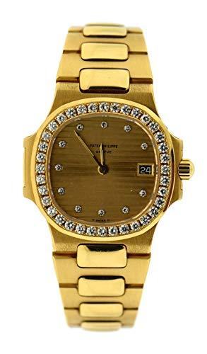 Patek Philippe Nautilus Quartz Female Watch 4700J/1 (Certified Pre-Owned)