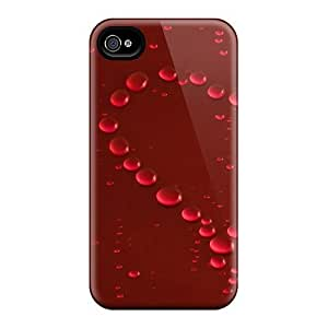 Snap-on Abstract Love Wallpaper Cases Covers Skin Compatible With Iphone 4/4S