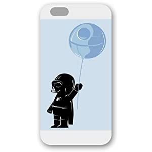 Onelee - Customized Personalized White Frosted iPhone 6+ Plus 5.5 Case, Star Wars iPhone 6+ Plus 5.5 case, Star Wars Han Solo, Death Star, Darth Vader, Logo iPhone 6 Plus 5.5 case, Only fit iPhone 6 Plus 5.5