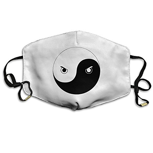 TOCCC Yin Yang Eyes Unisex Allergy Flu Masks Face Masks Brea