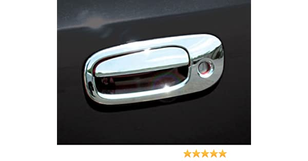 Jeep Grand Cherokee Chrome Set 2011-2012 -2013 Mirror Cover Set and 4 Door Handle Cover Set with Smartkey