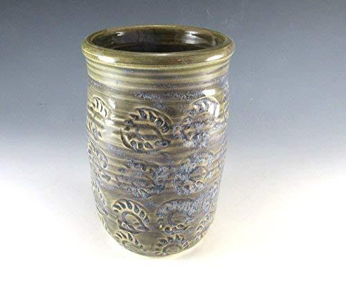 Pottery Vase/Utensil Holder/Flower Vase/For the Kitchen