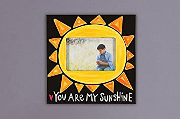 Amazoncom Magnolia Lane You Are My Sunshine Wooden Picture Frame