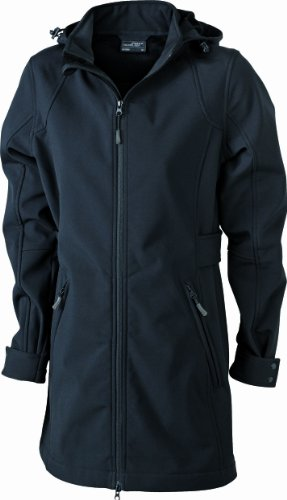 James & Nicholson Damen Jacke Softshellmantel Black MIM7fI