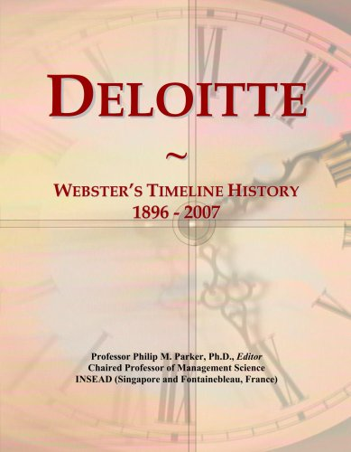 Timeline History, 1896 - 2007 ()