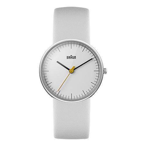 Braun Women's BN0021WHWHL Classic Analog Display Quartz White Watch