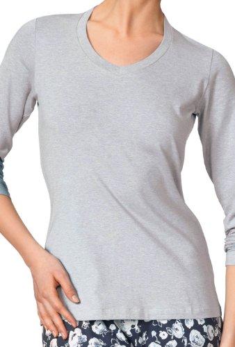 Sweat shirt Denim Foncé Femme Uni Calida v5Pdqv