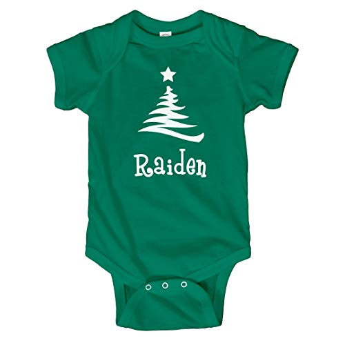 FUNNYSHIRTS.ORG Baby Raiden Christmas Outfit: Infant Bodysuit
